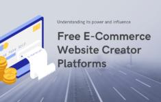 best free e-commerce website builder